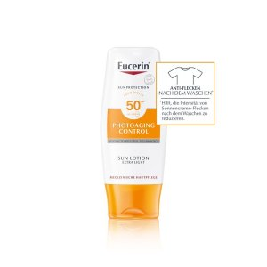 Eucerin Photoaging Control Sun Lotion Extra Light LSF 50+ Tube 150ml